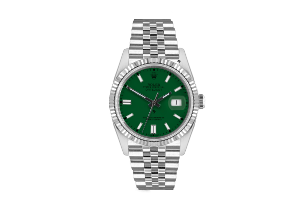 Rolex Datejust 36mm With Custom green dial