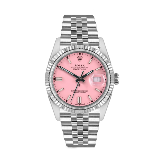 Rolex Datejust Rolex Datejust 36mm With Custom Pink dial