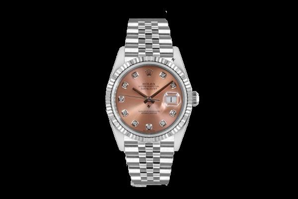 Rolex Datejust 36mm With Custom sundast diamonds  dial