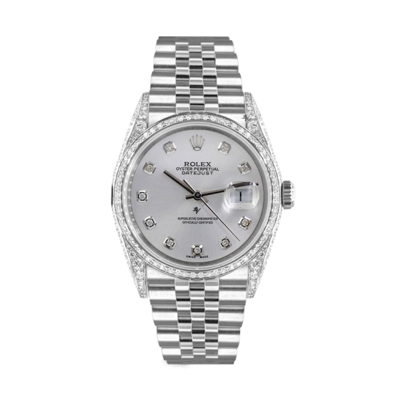 Rolex Datejust Rolex Datejust 36mm With added diamonds dial, bezel diamonds