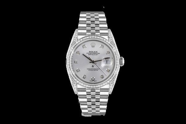 Rolex Datejust 36mm With added diamonds dial, bezel diamonds