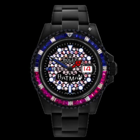 Rolex Limited Edition /5 Black Venom Dlc - Pvd *