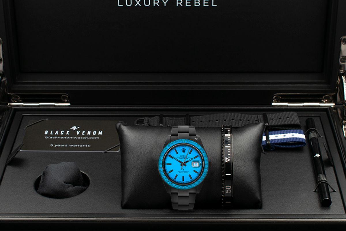 Rolex Limited edition /5 Black Venom Dlc - Pvd