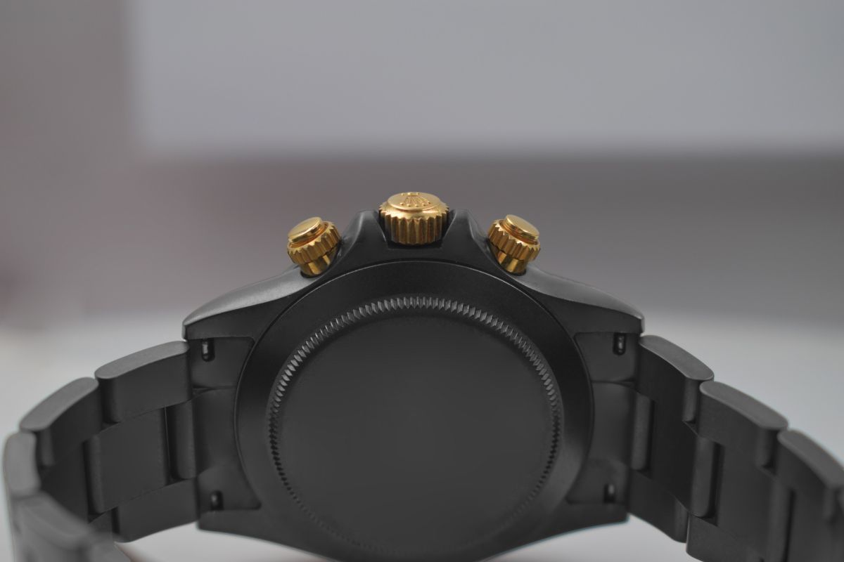 Rolex Black Gold MK2 - Limited edition /10 Black Venom Dlc - Pvd