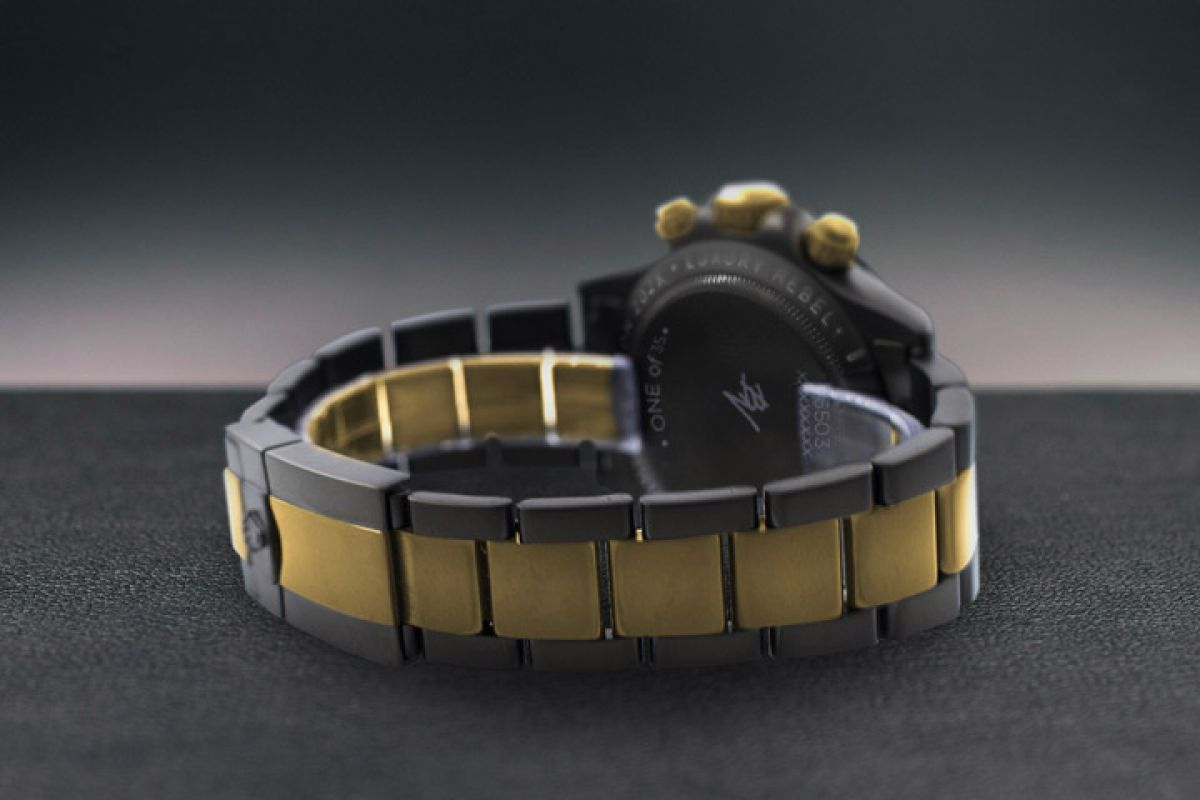 Rolex Black Diamond - Limited edition /35 Black Venom Dlc - Pvd