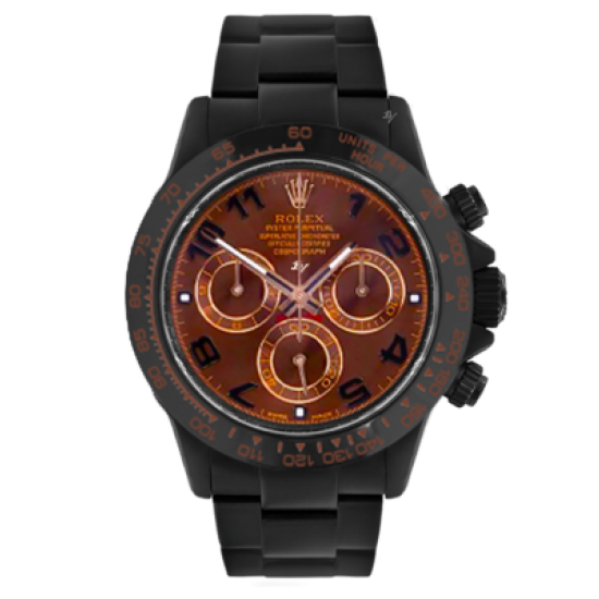 Rolex Chocolate  - Limited edition /10 Black Venom Dlc - Pvd
