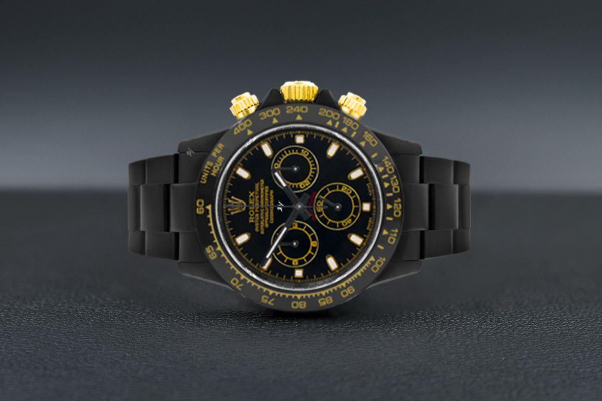 Rolex Golden MK1 - Limited edition /10 Black Venom Dlc - Pvd