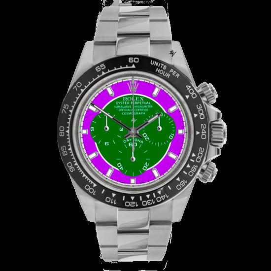Rolex  Vain - Limited edition /5 - Black Venom custom
