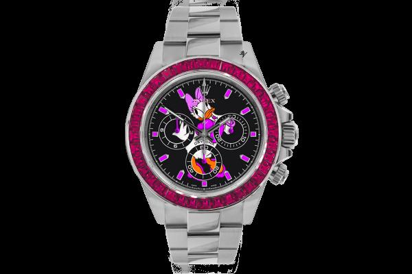 Silver Duck  - Limited edition /5 - Black Venom custom