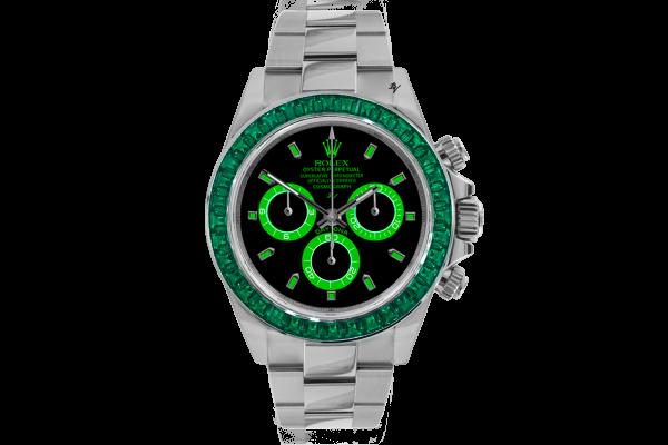 Emerald  - Limited edition /5 - Black Venom custom