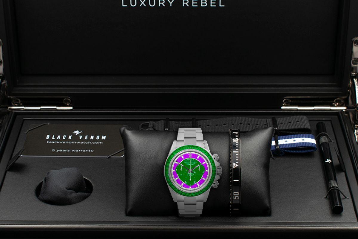 Rolex Switched  - Limited edition /5 - Black Venom custom