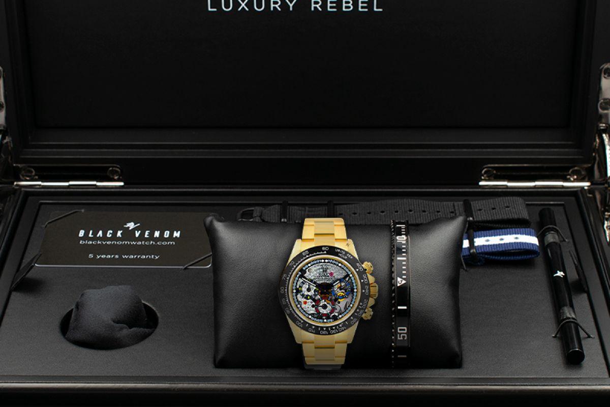 Rolex Master - Limited edition /5 - Black Venom custom