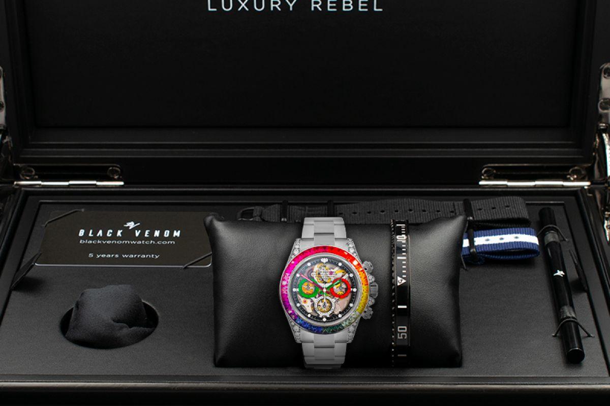 Rolex Quake  - Limited edition /5 - Black Venom custom