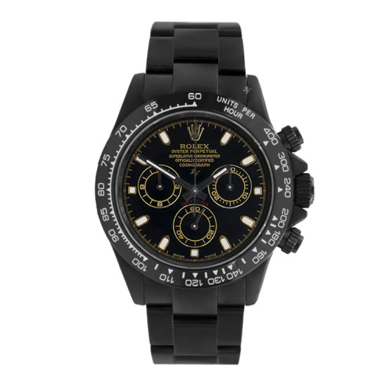 Rolex Golden  - Limited edition /10 Black Venom Dlc - Pvd