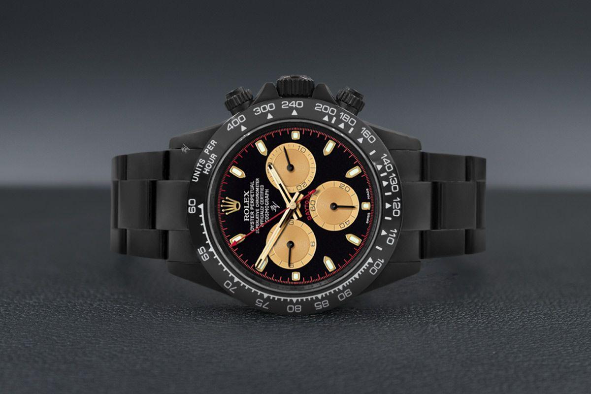 Rolex Black Gold  - Limited edition /10 Black Venom Dlc - Pvd