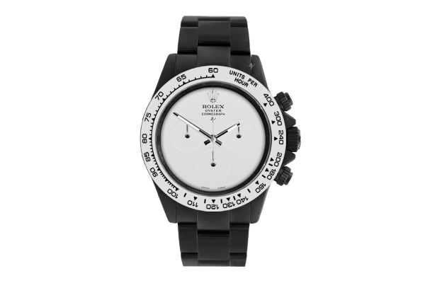Rolex Pure White  - Limited edition /10 Black Venom Dlc - Pvd