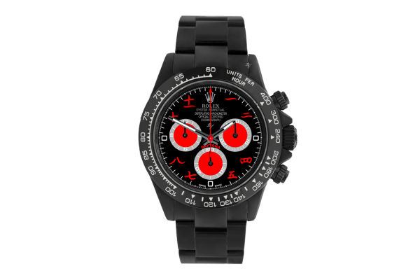 China Black  - Limited edition /10 Black Venom Dlc - Pvd