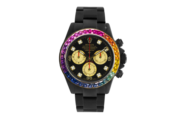 Rolex Rainbow MK1 - Limited edition /5 Black Venom Dlc - Pvd