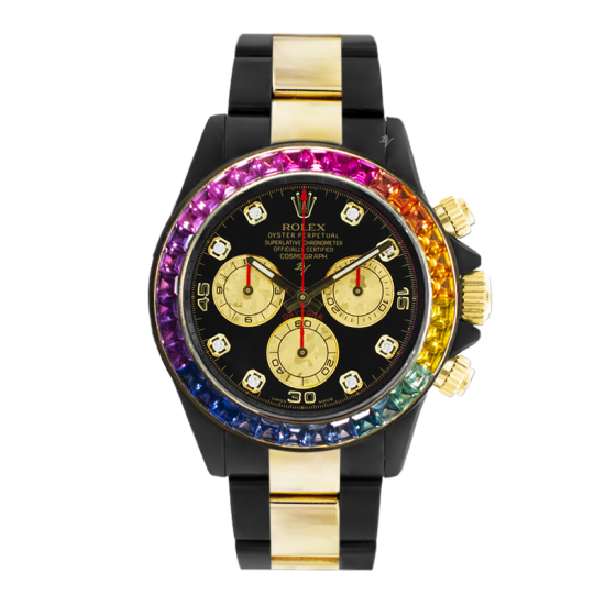 Rolex  Rainbow MK2 - Limited edition /10 Black Venom Dlc - Pvd