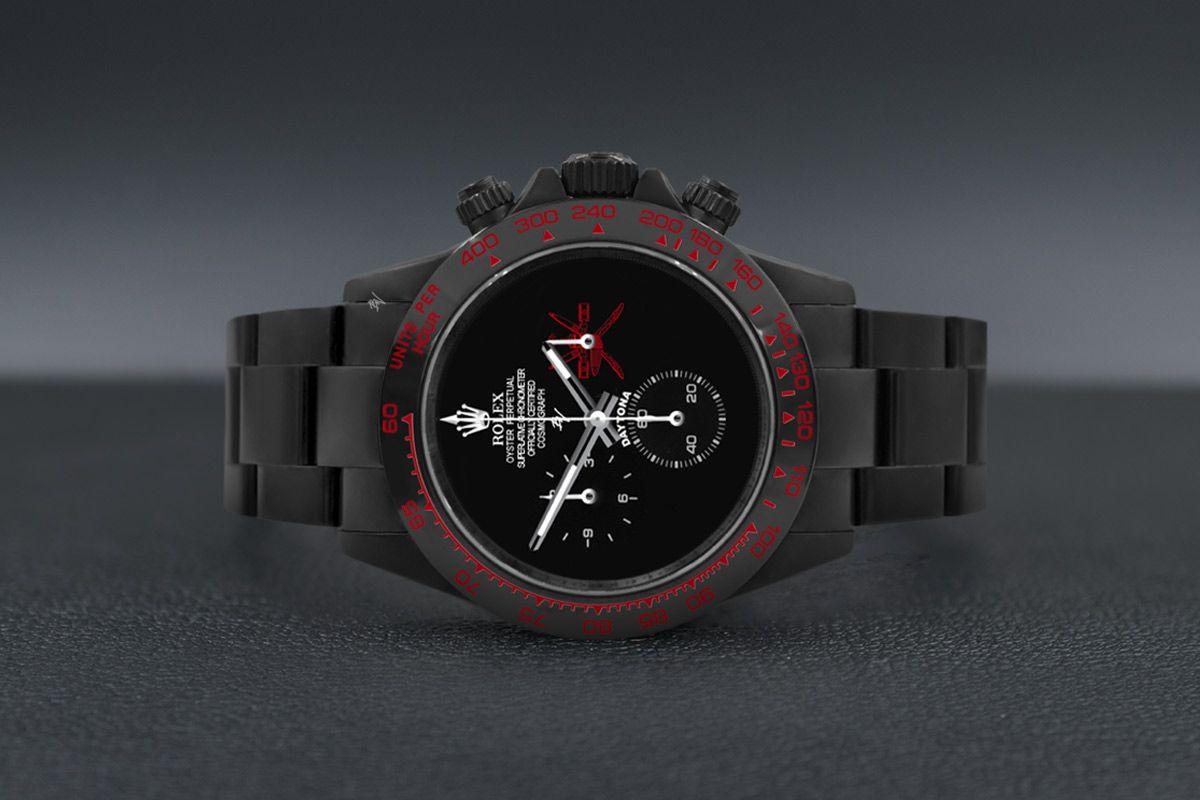 Rolex Limited edition /10 - Oman Sward Black Venom Dlc - Pvd