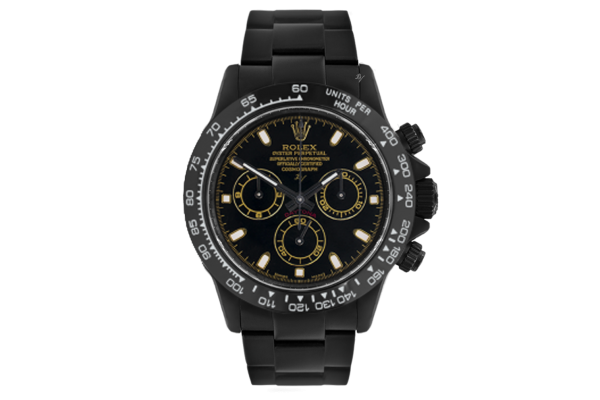 Rolex Golden  - Limited edition /10 Black Venom Dlc - Pvd