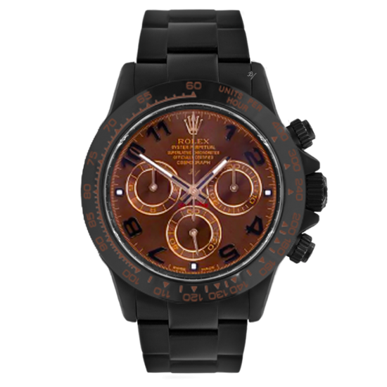 Rolex Chocolate  - Limited edition /10 Black Venom Dlc - Pvd