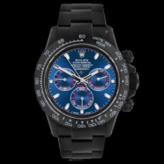 Rolex Blue  - Limited edition /10 Black Venom Dlc - Pvd