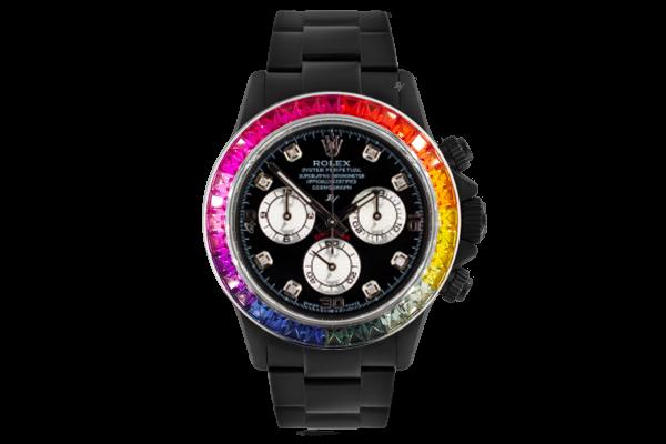 Rolex Rainbow MK3 - Limited edition /5 Black Venom Dlc - Pvd