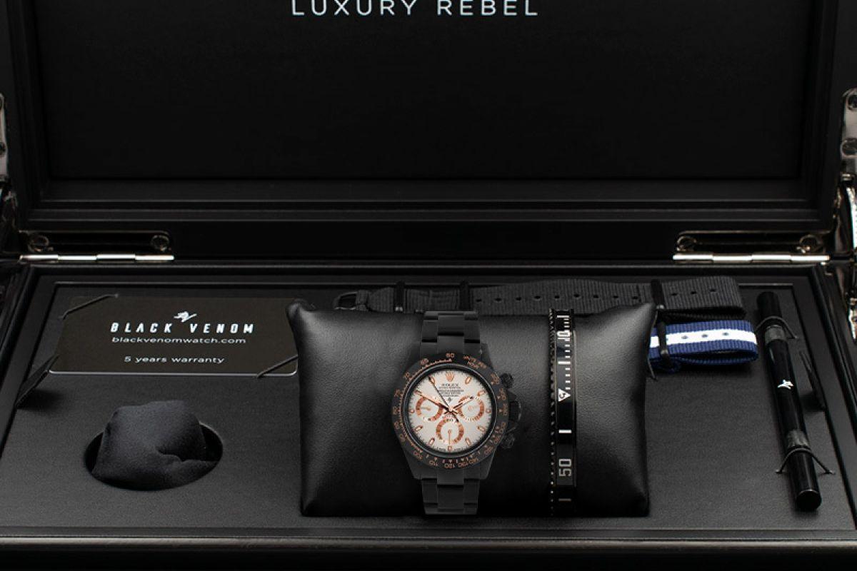 Rolex Ivory Everose  - Limited edition /10 Black Venom Dlc - Pvd