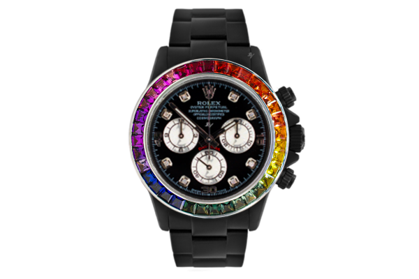 Rainbow MK3 - Limited edition /5 Black Venom Dlc - Pvd