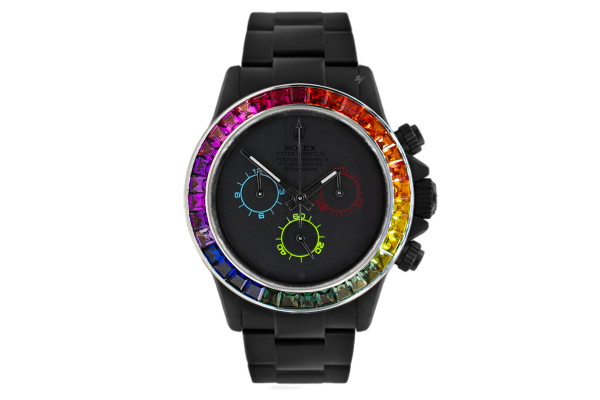 Rainbow Dark - Limited edition /5 Black Venom Dlc - Pvd