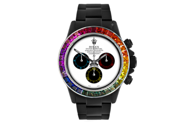 Rainbow White - Limited edition /5 Black Venom Dlc - Pvd