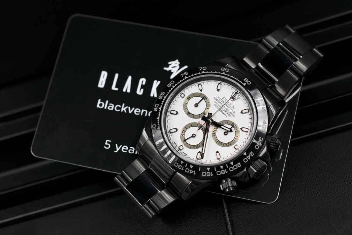 Rolex Limited Edition /35 Black Venom Dlc - Pvd