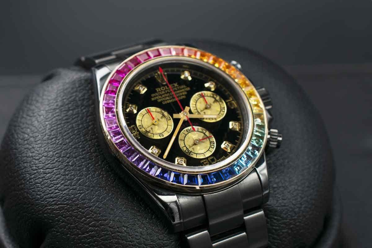 Rolex Rainbow MK1- Limited edition /5 Black Venom Dlc - Pvd
