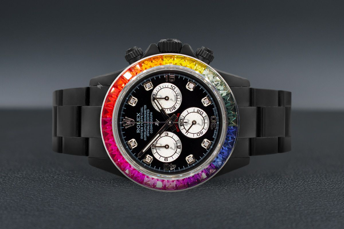 Rolex Rainbow MK3 - Limited edition /5 Black Venom Dlc - Pvd