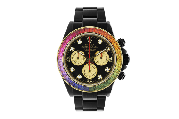 Rolex 116520 Black Venom - Rainbow - Limited edition /5