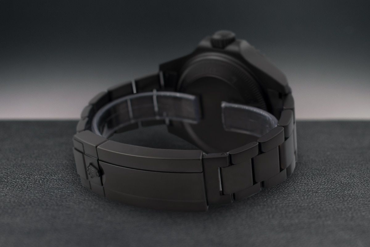 Rolex Orange Dot - Limited Edition /10 Black Venom Dlc - Pvd *