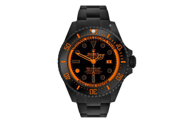 Orange Dot - Limited Edition /10 Black Venom Dlc - Pvd *