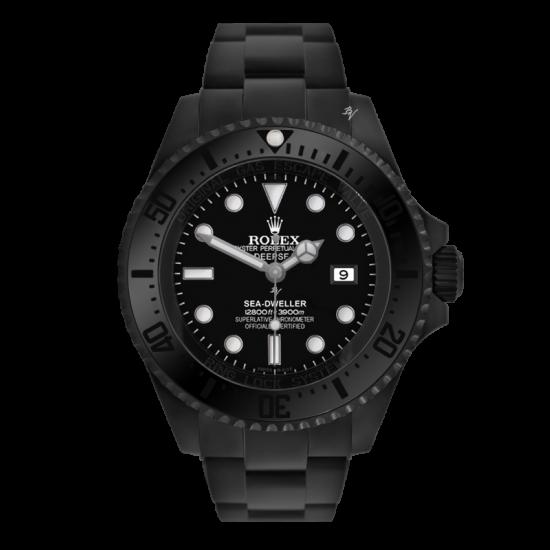 Rolex Deepsea Limited Edition /35 Black Venom Dlc - Pvd *