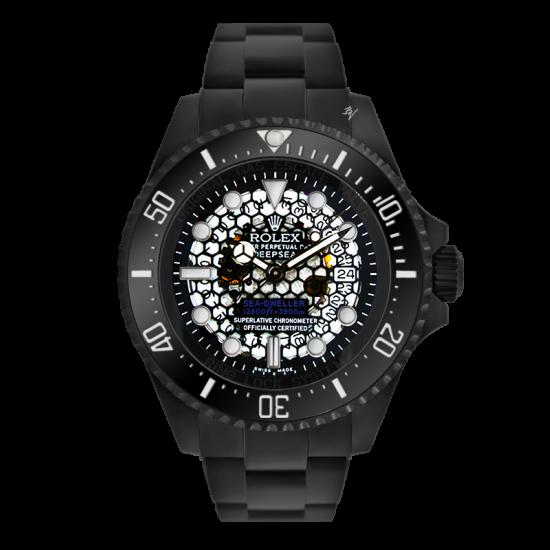 Rolex Skeletron - Limited Edition /10 Black Venom Dlc - Pvd