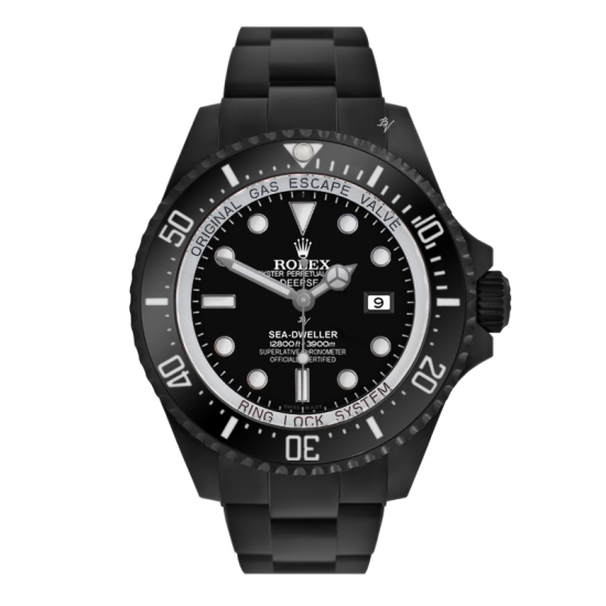 Rolex Deepsea Limited Edition /10 Black Venom Dlc - Pvd *