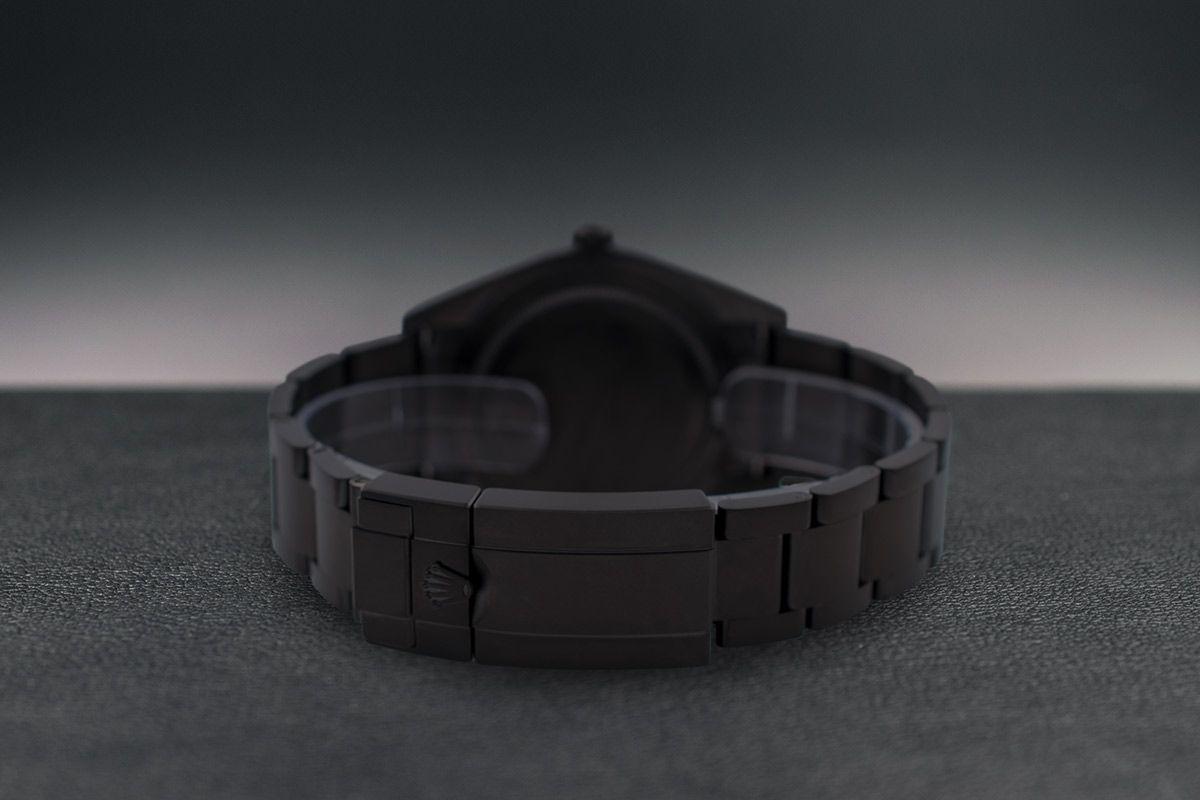 Rolex Green - Limited Edition /10 Black Venom Dlc - Pvd