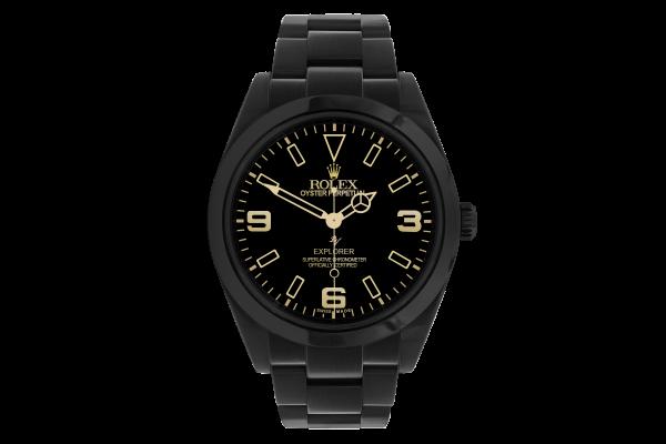 Rolex Limited Edition /10 Black Venom Dlc - Pvd