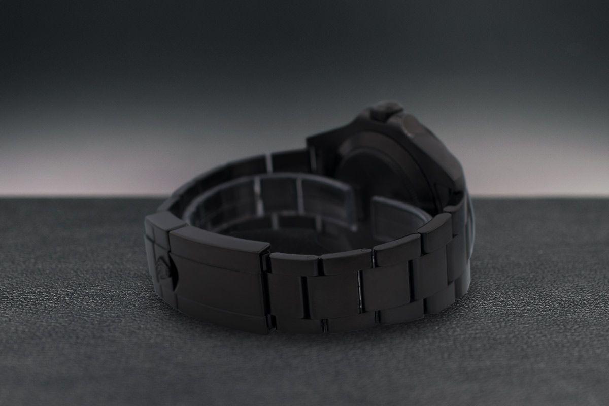 Rolex CRIMSON - Limited Edition /10 Black Venom Dlc - Pvd *