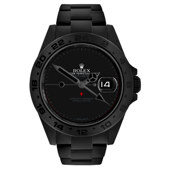 Rolex Dark - Limited Edition  /10 Black Venom Dlc - Pvd