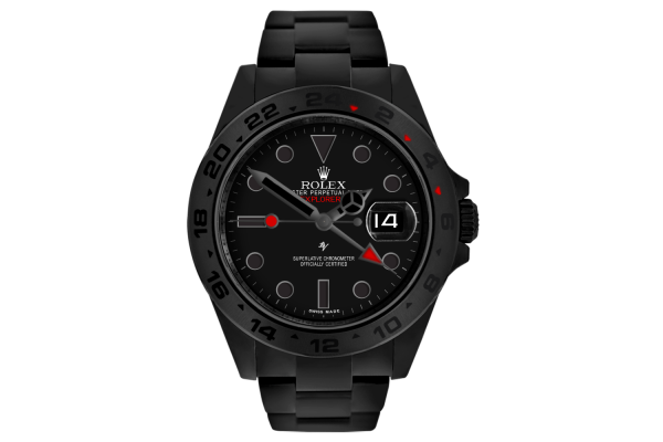 Rolex Red Taste - Limited Edition /10 Black Venom Dlc - Pvd