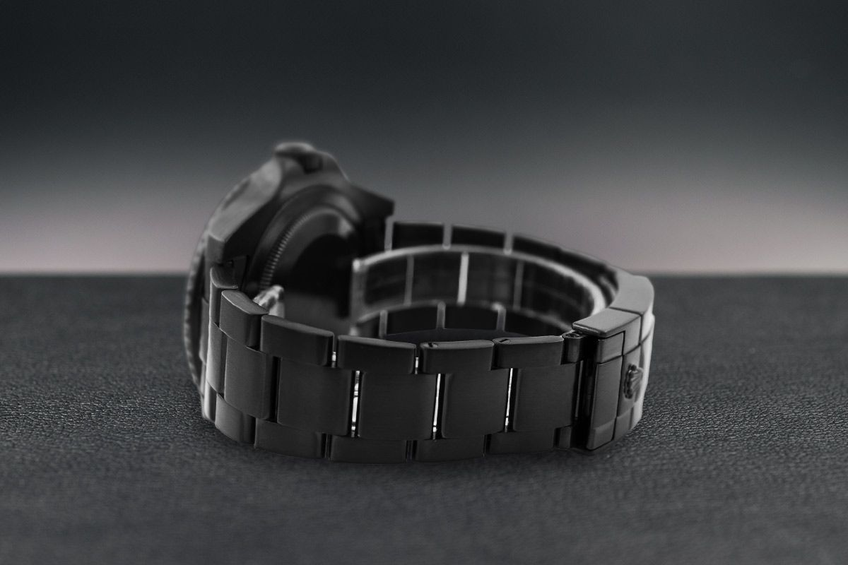 Rolex Limited Edition /5 Black Venom Dlc - Pvd *