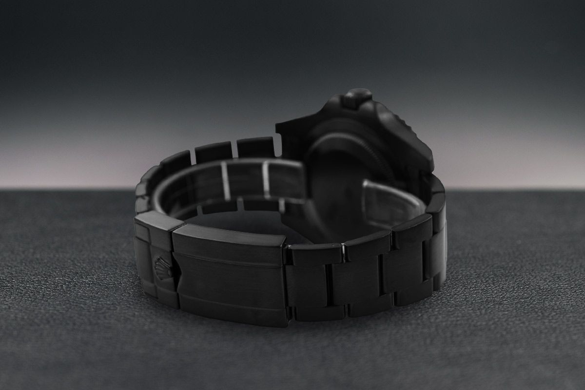 Rolex Limited Edition /35 Black Venom Dlc - Pvd *