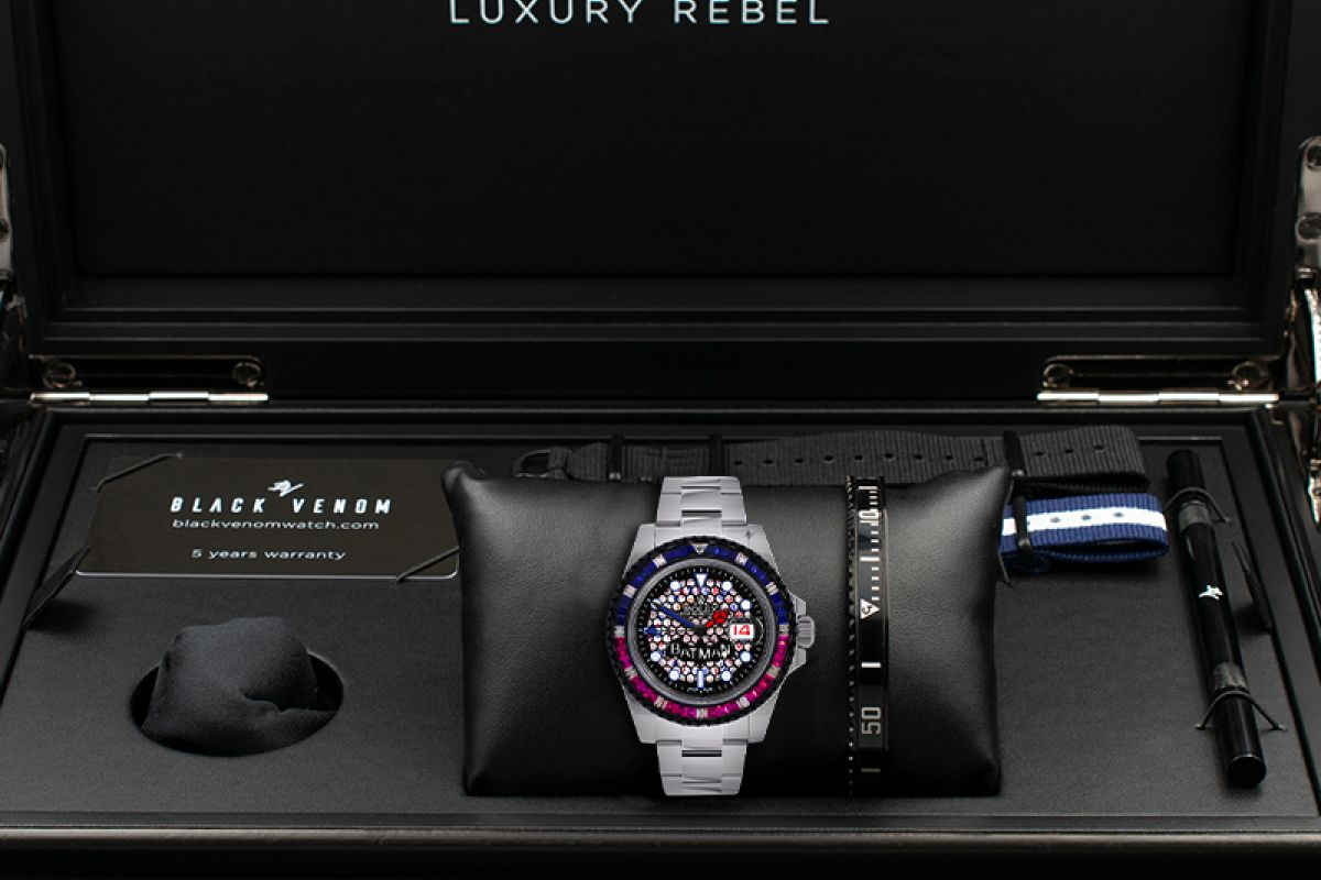 Rolex Limited edition /5 - Black Venom custom