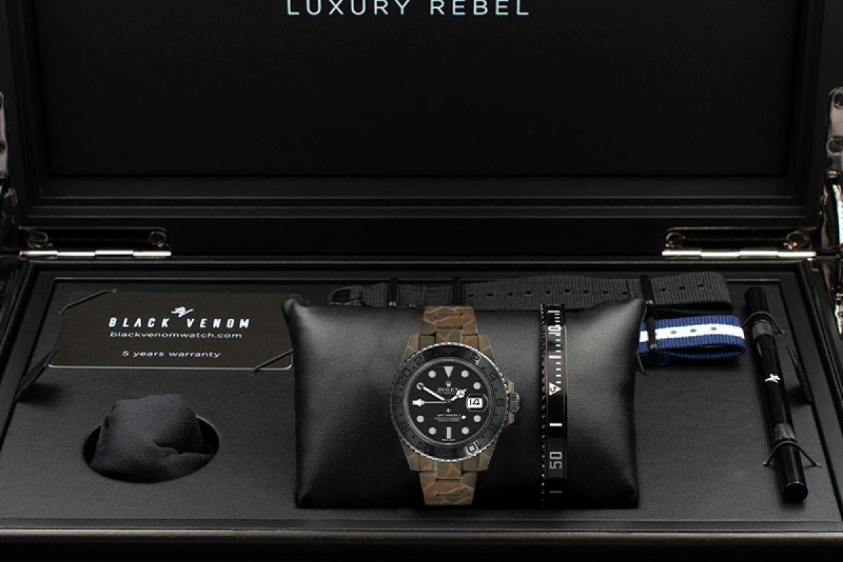 Rolex N.O.C CAMOUFLAGE MK2 - Limited edition /5 - Black Venom custom